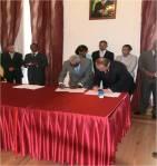 Assinatura de convenção entre GRP e Embaixada de Ordem de Malta